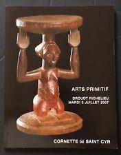 TRIBAL ART - ARTS PRIMITIFS collection Simon Escarré Drouot 2007 Cornette de St