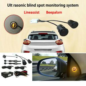 Universal Car Blind Spot Mirror BSM Radar Detection System Ultrasonic Sensor