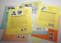 13 USA FDC First Day of Issue Covers Pages Stamps Postage Collection 1977