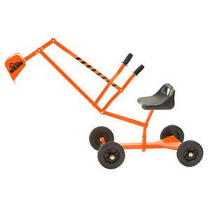 Big Dig and Roll Special Edition Sandbox Digger w/ 360 Degree Rotation, Orange
