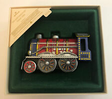 1984 Hallmark Keepsake Christmas Ornament Collector Tin Locomotive 3rd in Series