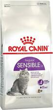 Royal Canin Feline Health Nutrition Sensible Sensitive Dry Cat Food 400g