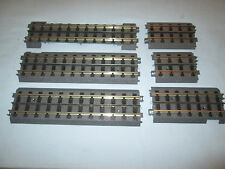"7 Pieces of MTH RealTrax Track. 3 -10"", 1 - 5.5"", 1 - 4.25"" and 1 - 3.5"""
