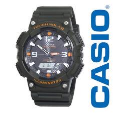 New Casio Men's Tough Solar Illuminator Analog & Digital, Black AQS810W-3AVCF