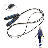 10ft SKIPPING ROPE  Comfort Foam Weight Loss Boxing Speed FITNESS Training