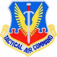 USAF AIR FORCE TACTICAL AIR COMMAND TAC PATCH VETERAN AIRMAN