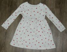 Old Navy Toddler Girls Heart Printed Long Sleeve Dress ~ Size 3T