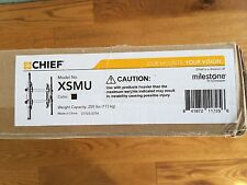 "Chief XSMU FUSION Micro-Adjustable Fixed Wall Mount  Fits 55-75"" New"