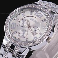 Geneva Bling Crystal Lady Women Girl Unisex Analog Quartz Sport Wrist Watch