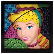 NEW OFFICIAL Disney by Britto Cinderella Pop Art Block Ornament 4033869