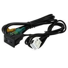 KKmoon USB AUX Audio Kabel Schalter Stecker FüR VW Passat B6 B7 CC Touran C6G3