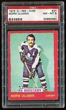 1973 OPC #27 Norm Ullman *Maple Leafs* PSA 8 NM-MT Cert #30860980