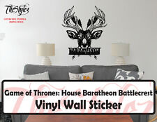 Game of Thrones House Baratheon Battlecrest Vinyl Wall Sticker