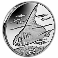 The 2018 Giant Manta Ray Uncirculated Cupro Nickel Coin