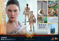 Hot Toys Wonder Woman Training Armor Version 1/6 Scale Figure New Double Boxed