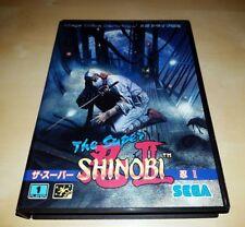 Sega Mega Drive/Genesis The Super Shinobi II NTSC JAPAN