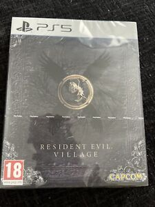 Resident Evil Village PS5 steelbook edition brand new & sealed