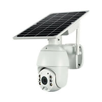 1080P Wireless WIFI 4G SIM Card Solar Power Outdoor Security CCTV IP PTZ Camera