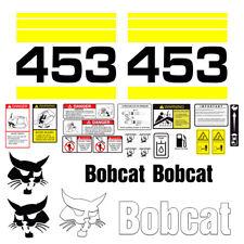 Bobcat 453 Skid Steer Set Vinyl Decal Sticker 25 Pc