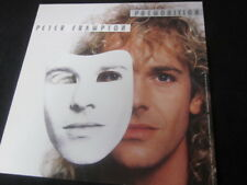 Peter Frampton 1986 Premonition 12x12 Promo Cover Flat Poster 2-Sided Humble Pie