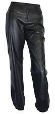 Hosengröße 36 Damenhosen aus Viskose mit weitem Bein