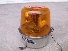 TRIPP-LITE 2 Bulb 12 V Rotating Yellow Emergency, Plow Truck, Construction Light