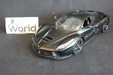 Bburago Signature Ferrari LaFerrari 1:18 matt black (PJBB)