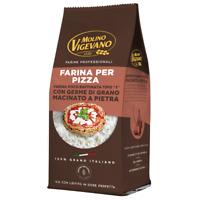 Farina Vigevano 500 Gr PIZZA Tipo 1 germe di grano vitale macinato a pietra l...