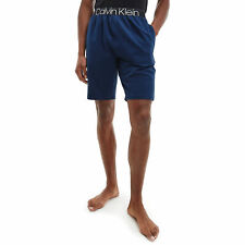 Calvin Klein Sleep Short Mens Underwear Loungewear Bottoms - Lake Crest Blue