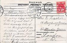 Genealogy Postcard - Ancestor History - ?acher or ?aches - London N.W.  U2434