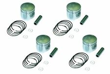 72-76 KAWASAKI Z1 Z900 1.0mm OVERSIZE PISTONS SET 67.00mm  4 PISTONS 10-Z1PS-2