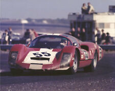 Vintage 8 X 10 1967 Daytona Porsche 906 LE Color Auto Racing Photo