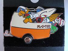 Disney Pin 8442: DCA Mulholland Drive Pluto in Trailer Surfboard 2001 VHTF New