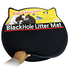 Blackhole Cat Litter Mat - Innovative Dual-Structure Litter Box Mat