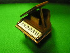 DOLL House FURNITURE Magnificent Wood GRAND PIANO.....SALE....FREE POSTAGE USA