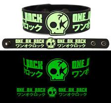ONE OK ROCK Rubber Bracelet Wristband Glows in the Dark