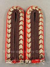 1567 Feuerwehr, Paar Schulterstücke für Feuerwehrmänner der Feuerschutzpolizei