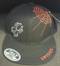 Spider Design Halloween Child Junior Snapback Hat - New with Tags