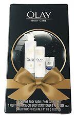 OLAY Nighttime Body Care Gift Pack w/ Retinol24 Sample