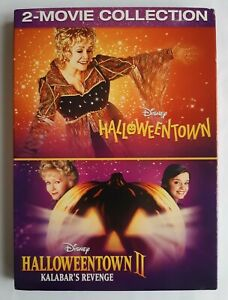 Halloweentown 1 & 2 Kalabar's Revenge DVD 2 Movies Disney Channel Region 1