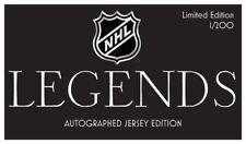 НХЛ-легенды, Коллекция — 1 подлинность подписи Джерси в коробке случайное