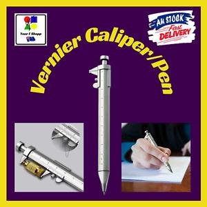 Pen Caliper Vernier Measuring Ballpoint Ruler 1.0 Ink Multifunction Fun Gift
