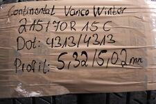 2 x Continental Vanco Winter2  215/70 R 15 C 109R  5,0mm