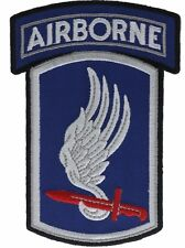 173rd Airborne Brigade 4 1/4 Inch Cap Hat Embroidered Patch F1D21C