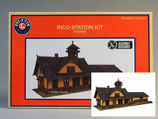 LIONEL RICO PASSENGER TRAIN STATION KIT O GAUGE depot building 6-83440 NEW