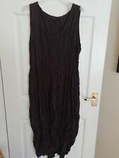 Privatsachen crash silk Licht sleeveless dress size 2 lagenlook OSFA