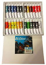 Oil Colour Set 24 x18ml  Artist Quality Student Paints Oil Paints Oil Paint Set