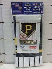 """WinCraft """" PITTSBURGH PIRATES """"  27"""" X 37"""" Vertical Flag 028464"""