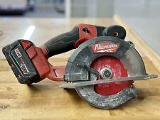 Milwaukee 2782-20 M18 FUEL Metal Cutting Circular Saw w/ 4.0Ah Battery (37115-3