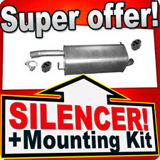 Rear Silencer FORD FIESTA MK V MAZDA 2 1.2 1.3 1.4 2002-2008 Exhaust Box AJU
